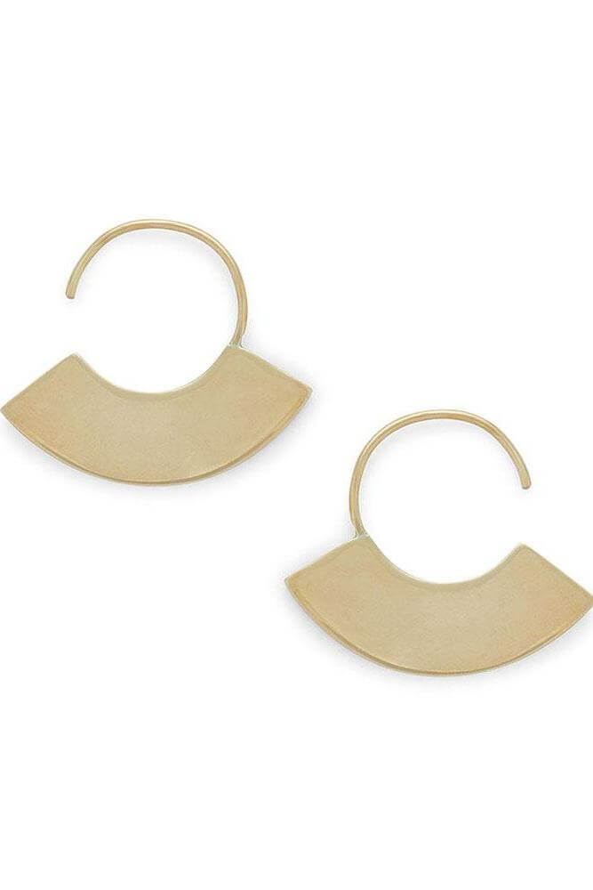 Petite Paddle Threader Earrings