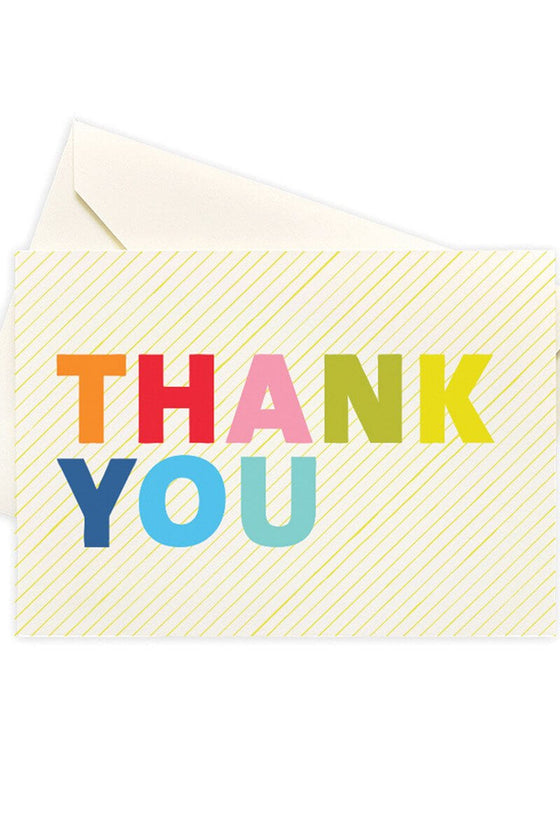Colorful Thank You Boxed Cards