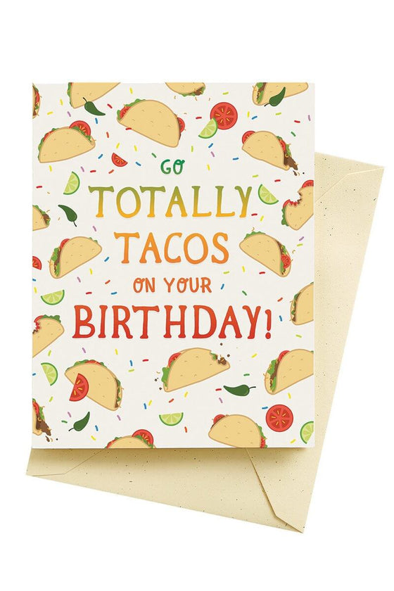 Tacos Birthday Card