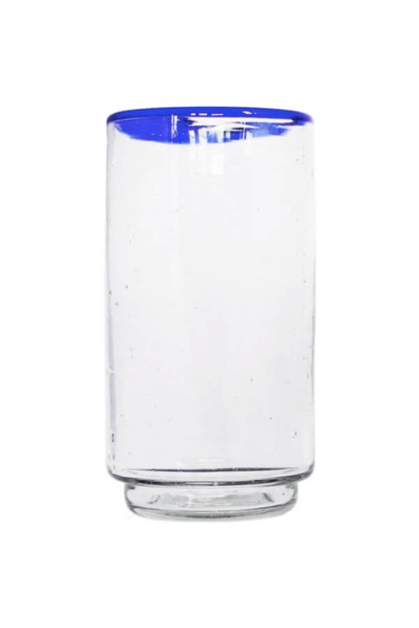 Sobremesa Blue Rim Stacking Glass