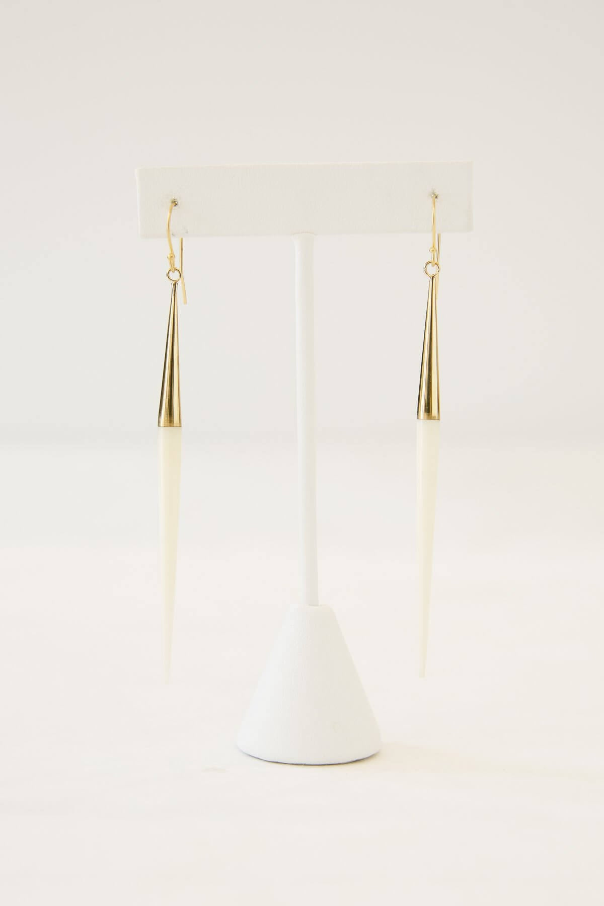 Soko Capped Quill Dangle Earrings