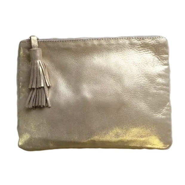 NIGHT FEVER POUCH IN GOLD