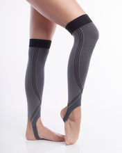 #1 Calf Compression Sleeve with Ankle Strap. Support - Compression - Recovery - Circulation. For MEN and Women. 1 Pair.