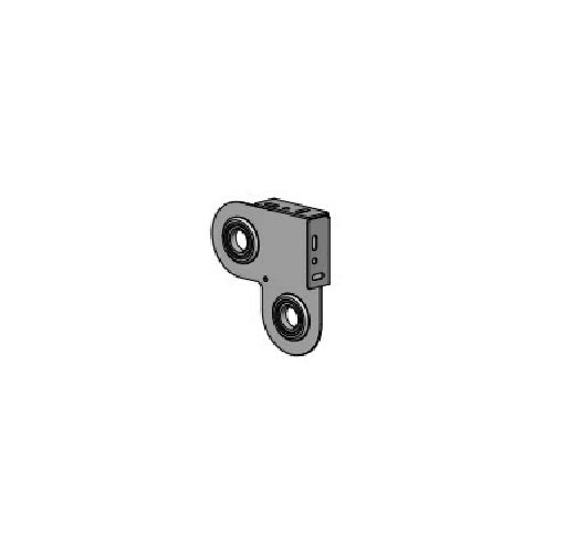 Square Double Easy-Link Inter. Bearing Brkt | S40/45