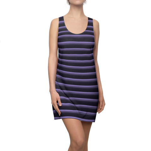 Purple Racerback Dress