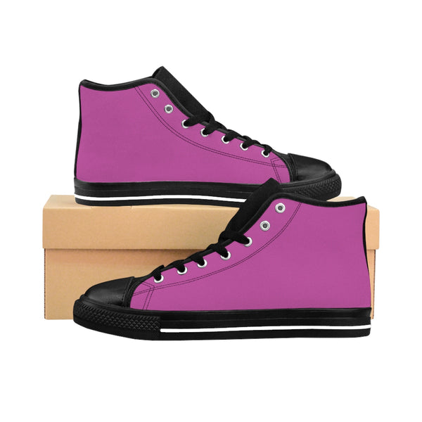 Pink Women's High-top Sneakers