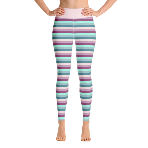 Pretty in Pastel Yoga Pants