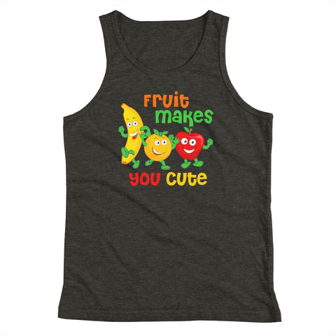Fruit Makes You Cute Kids Tank Top