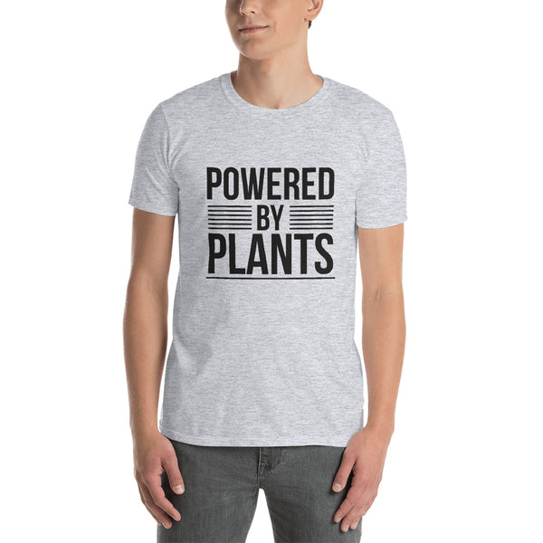 Powered by Plants Short-Sleeve Mens T-Shirt