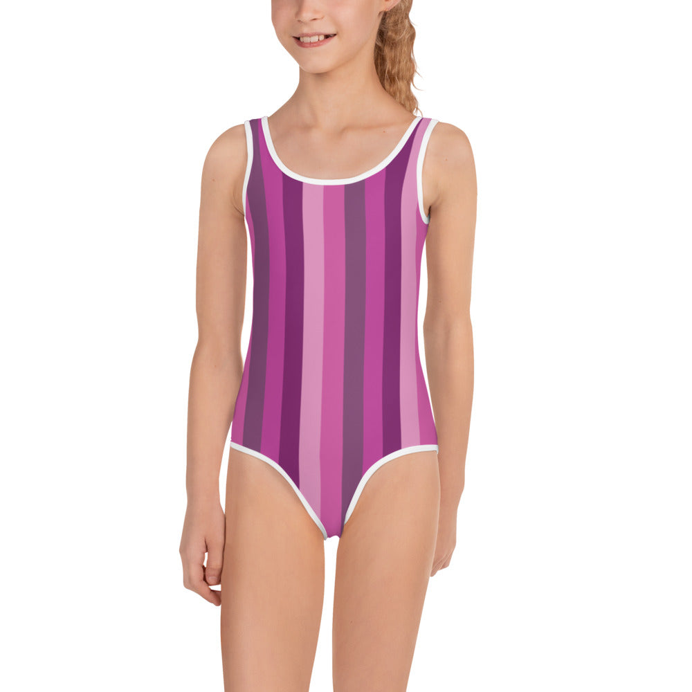 Pink Girl's Swimsuit