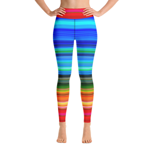 Rainbow Yoga Pants