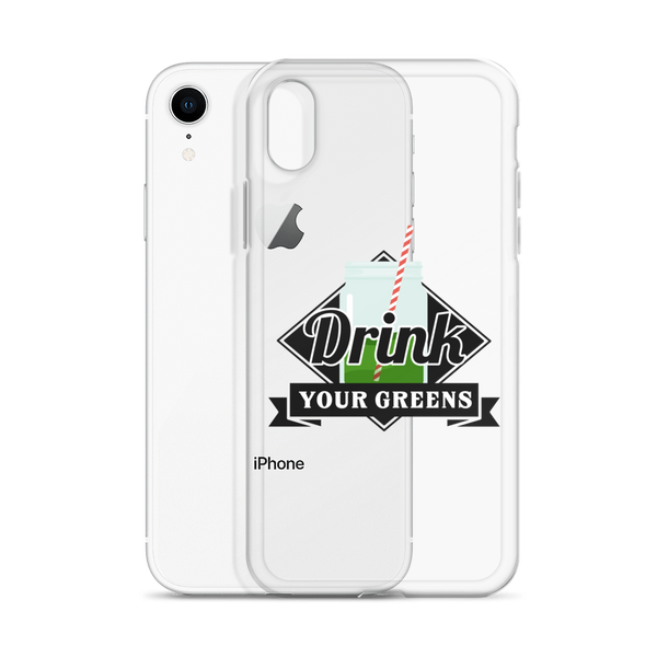 Drink Your Greens iPhone Case