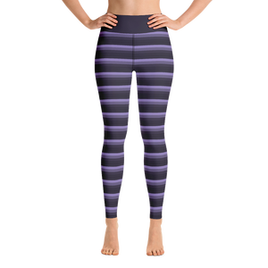 Moody Striped Yoga Pants