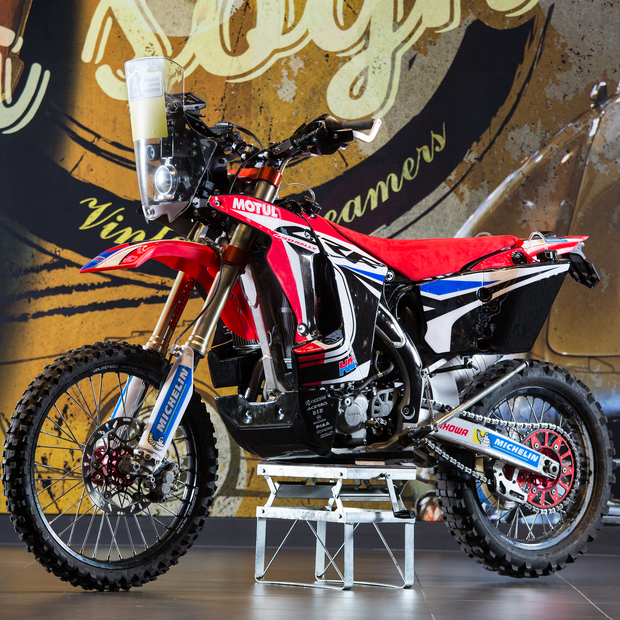 Transitalia Marathon 2019 - CRF450X RALLY REPLICA KIT