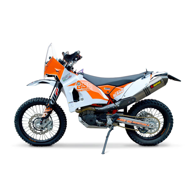 KTM Sei-90 Adventure-R Fairing KIT compatible with EVO2 Rally Raid tanks