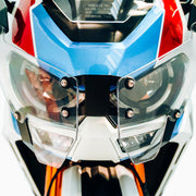 TRANSPARENT HEADLIGHT GUARD HONDA CRF 1100L AFRICA TWIN 2020