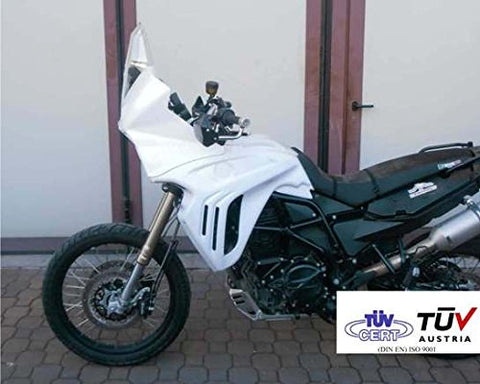 "040.0009.CK.PLX - Rally Comp ""X"" hull kit for BMW F 800 GS with transparent Plexyglass 2008/2011"