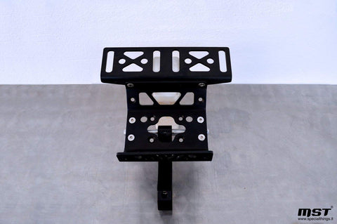 MST0022 - Single bracket navigation tower with roadbook / tripmaster holder plate