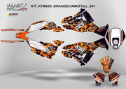 Graphics kit for KTM690 Adventure-R Kit