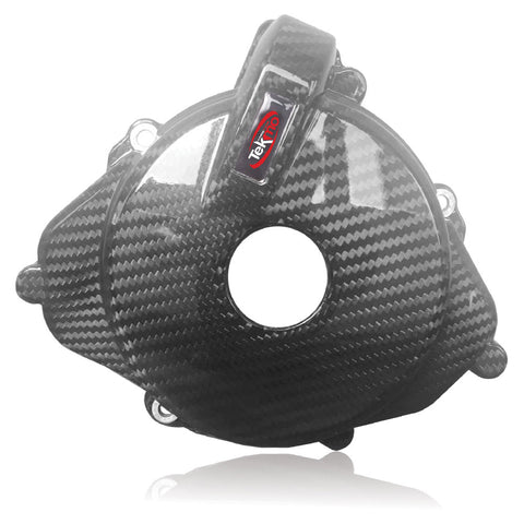 TEK701EN-ST - Carbon ignition cover guard Husqvarna 701 – KTM 690