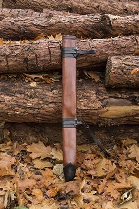 Full Scabbard Large Right Hand Brown 87 cm