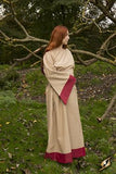 Dress Freya Desert Beige/Dark Red
