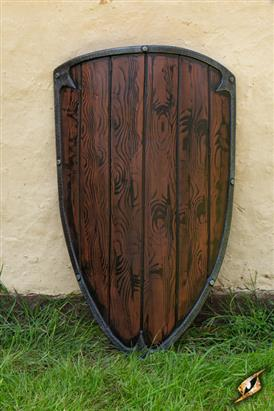 Footman Shield Wood 90 x 60
