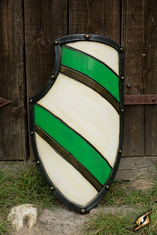 Knight Shield Green/White