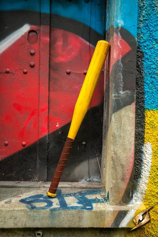 Baseball Bat - yellow - 80cm