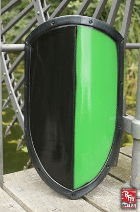RFB Kite Shield Black-Green (レディフォバトル)
