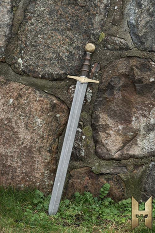 Knightly Sword Gold 87 cm