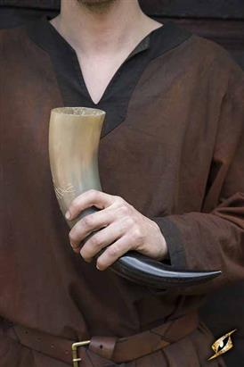 Druid Drinking Horn 500ml Light