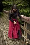 Battle Skirt - Dark Red - Small