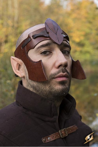 Elven Head Band Brown
