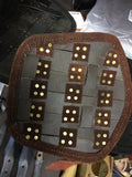 Ready For Battle Fighter Bracers Brown Small