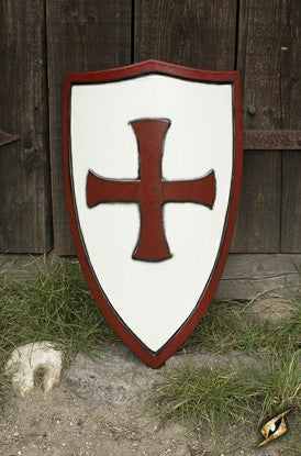Templar Shield Red/White