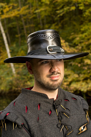 Witch Hunter Hat Black XL