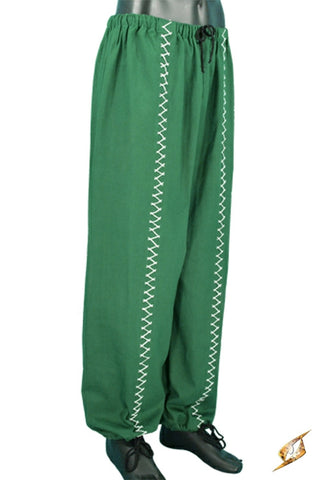 Pants Stitched Green S/M
