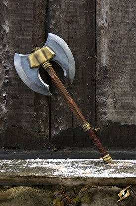 Doubleheaded Battle Axe 85cm