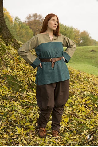 Tunic Sam-Dryad Green/Blue Small/Medium
