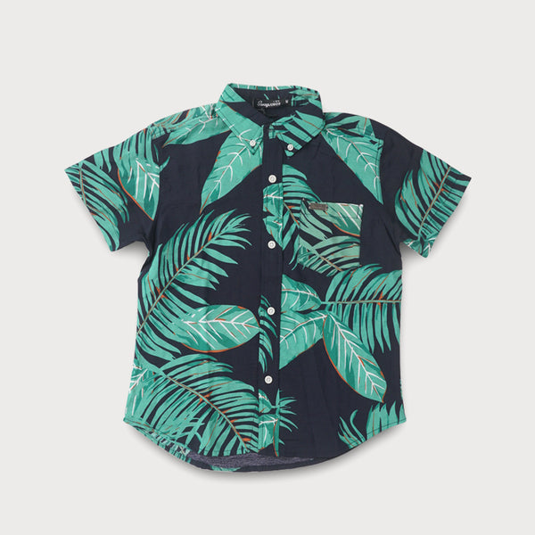 Tropical Buttondown Polo