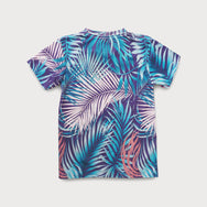 Crew Neck Tropical Shirt