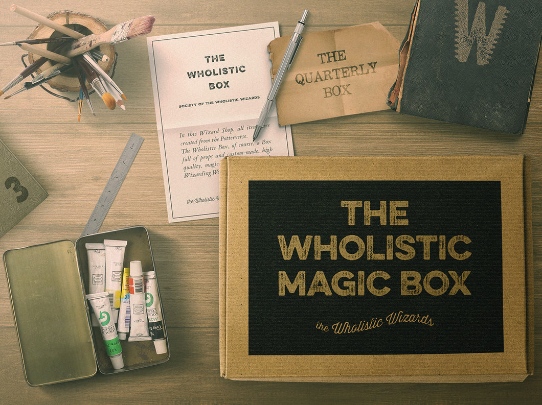 the Wholistic Box - Quarterly - 3 boxes