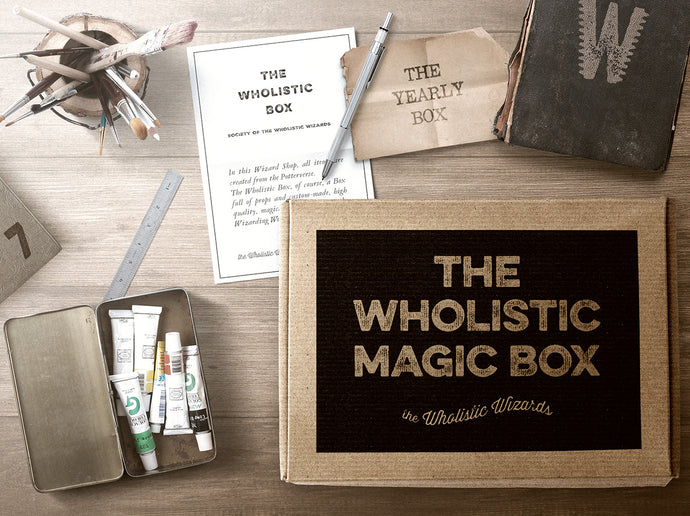the Wholistic Box - Yearly - 6 boxes + 1 bonus