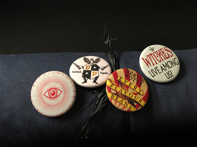 Four Round Badges