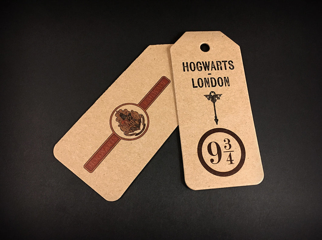 Two Hogwarts Express Tags