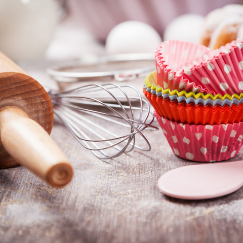 Baking Essentials required as part of a home pantry