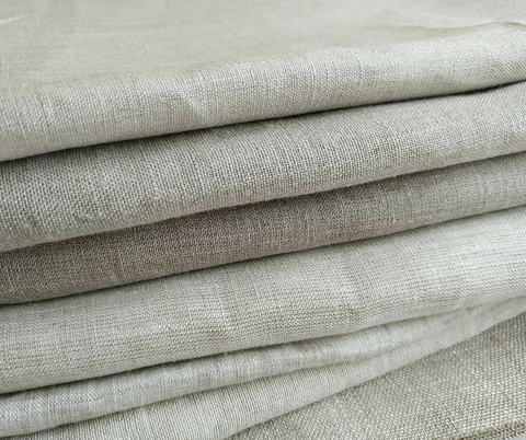 Linen represented here as an upholstery fabric