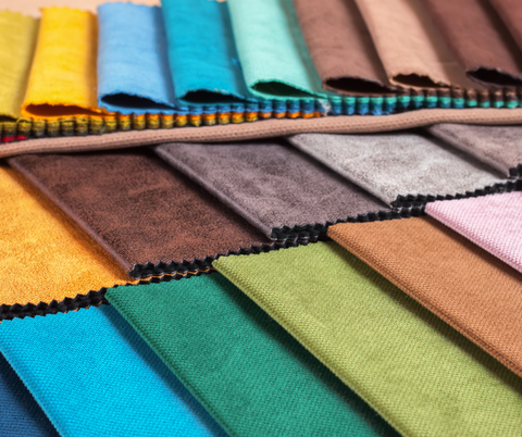 A Collection of different types of upholstery fabrics for home decor blog on leelathestore
