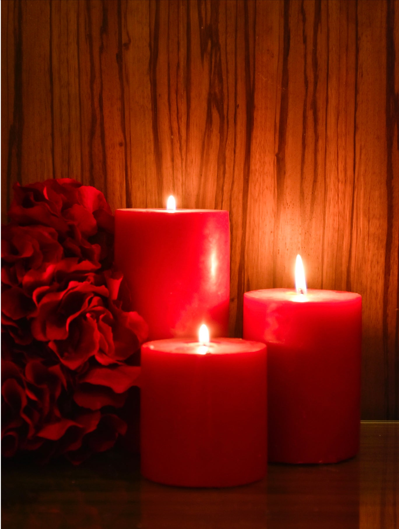 Ruby Candles